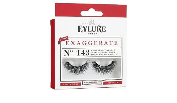 ff85d5c1eab Eylure Exaggerate 143 Lashes: Amazon.co.uk: Beauty