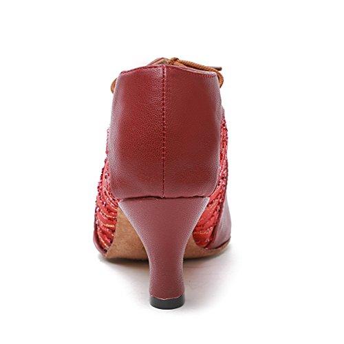 Tacco sei Ballo Donna Centimetri Minitoo Red gvX6xq