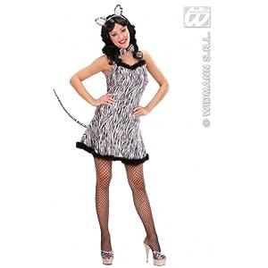 WIDMANN 70531, Erwachsenen Kostüm Damen Zebra GröÃ?e S / 36-38