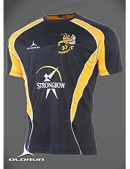 Hamilton Hornets camiseta negro S-XXXXL
