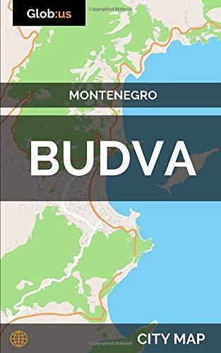 Budva, Montenegro - City Map [Lingua Inglese]