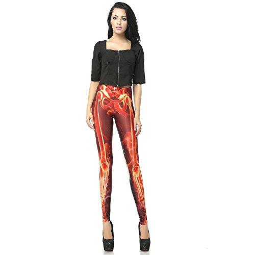 ZQ@QXMeine Damen, Bleistifte, Hosen, meine Damen und Herren, Bleistift, Hosen, Skinny, Leggings, Pants, L, Bild (Neue Für 2017 Herren Halloween Kostüme)
