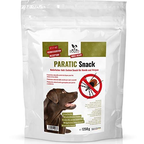 Dogs-Heart Anti-Zecken Snack für Hunde mit Schwarzkümmelöl - DAS ORIGINAL! Natürlicher Zeckenschutz für Hunde - auch für Welpen! (1250 g)