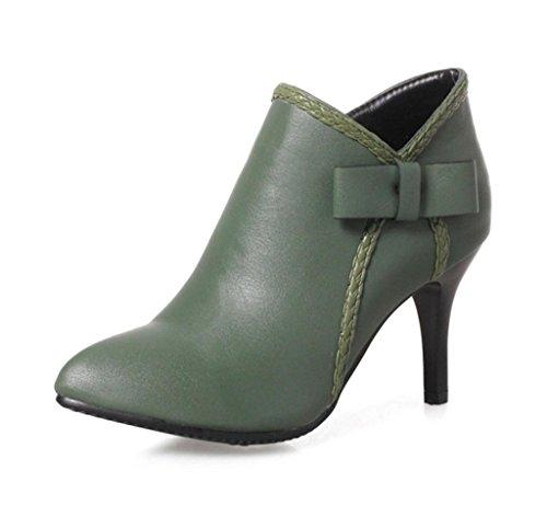 DZW Chaussures à talons hauts pointu des femmes féminines personnalité