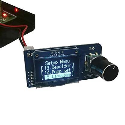 ExcLent Ksger V2.1S T12 Stm32 Oled Controlador Digital De Temperatura Aleación 9501 Mango De Soldadura Con Bomba Jbc Soldador Eléctrico Hierro