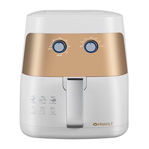 Pringle Litre Healthy Fryer/Air Fryer with Rapid Air Technology/Fat Airfryer Deep Fat Fryers at amazon