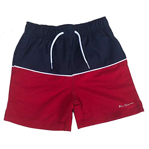 Ben Sherman Niño Pantalones Cortos Natación Rojo/Azul