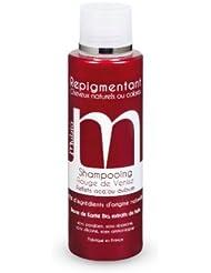 mulato - shampooing repigmentant rouge de venise - contenance : 200 ml