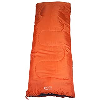 Mountain Warehouse Basecamp 200 Mini Sleeping Bag - 2 Season, 160 * 65cm, Insulated Kids Travel Sleep Essential 3