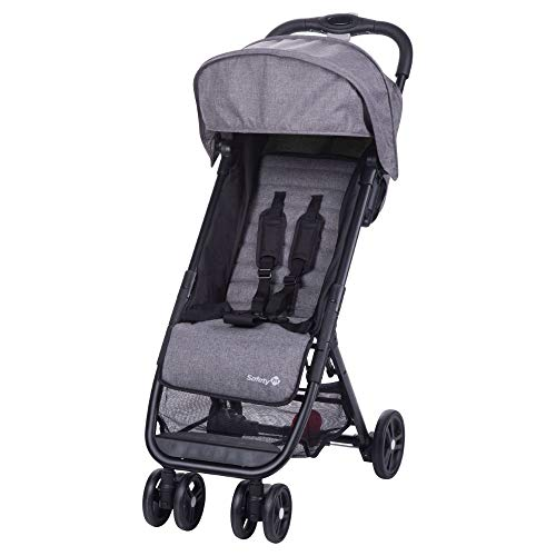 Safety 1st Poussette Canne Ultra Compacte Teeny - De la naissance à 3 ans - Black Chic