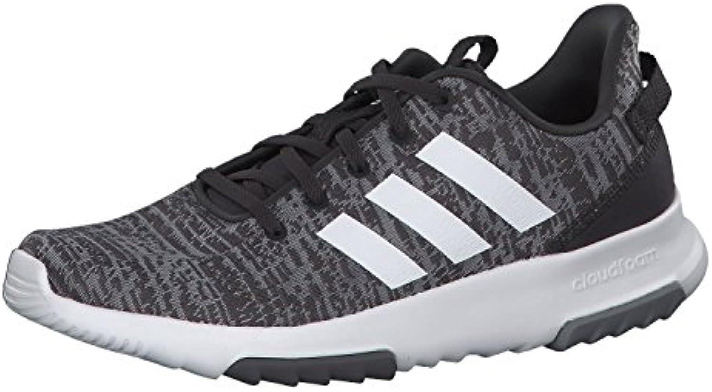 adidas CORE Herren Sneaker CF Racer TR Grey/FTWR White/Carbon 36