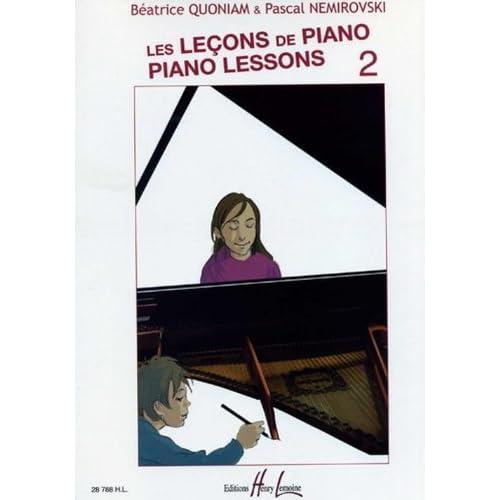 Leçons de Piano (Les) Vol.2