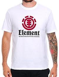 Tee shirt Element Vertical Optic Blanc