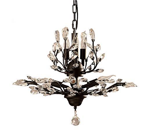 Moderne De Haute Qualité Cristal Goutte De Pluie D'éclairage Éclairage Encastré Mont LED Plafonnier Luminaire Pendentif Lustre Pour Salon 7 E14 Ampoules