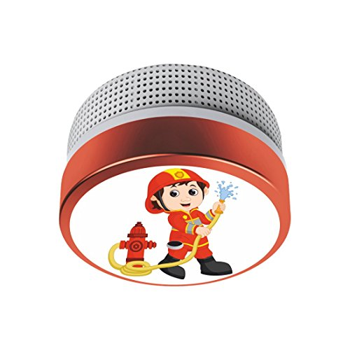 ELRO Rauchmelder Kinder Design Feuerwehrmann FS8110 - Rauchwarnmelder mit 10 Jahres Batterie - nach...