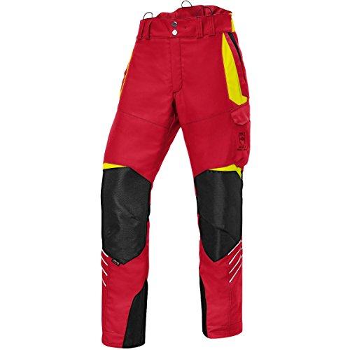 KÜBLER Schnittschutzhose Klasse 1, Farbe:rot, Größe:XXL (kurzgr.)
