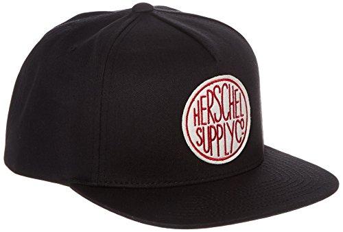 herschel-supply-co-negro-scope-snapback-cap