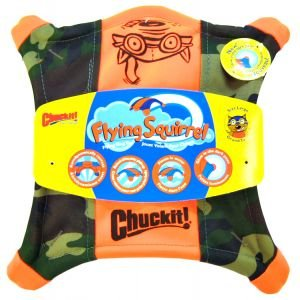 Chuckit! CAMO FLYING SQUIRREL Dog Fetch Toy