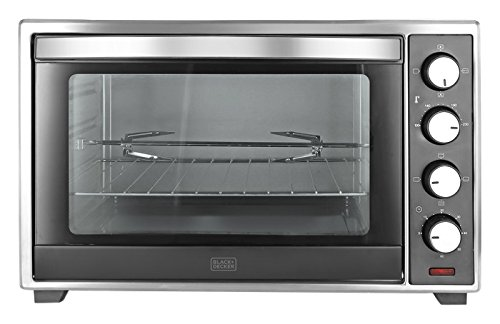 Black + Decker 30 LTR Oven Toaster Grill,Grey