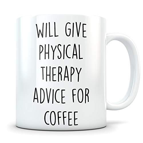 Funny Coffee Mug Physical Therapist Gift Physical Therapist Physical Therapist Appreciation Physical Therapist Thank You Physical Therapist Cup Gifts for Christmas 15 oz