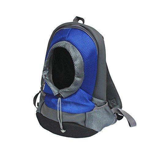 Pet Carrier zaino, Portable Outdoor Travel Dog custodia Carrier bag Head out design spalle doppie cinghie Pet Dog Carrier bag zaino per cani di taglia piccola, media per esterni viaggi escursioni