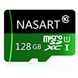 Carte mémoire Micro SD SDXC 128 Go/256 Go/400 Go Carte mémoire TF High Speed Class 10 avec Adaptateur SD 128 Go