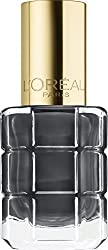 LOreal Paris LHuile Nail Paint, 672 Noir Oxyde, 12ml