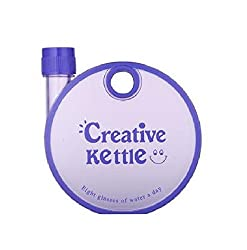 Tuelip Creative Kettle Bottle for Kids, Travel and Office Use BPA Free Plastic water bottle 350 ml Purple