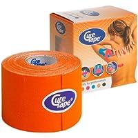 CureTape Kinesiologie Tape für Sport & Medizin orange 5 m x 5 cm, 1 Rolle preisvergleich bei billige-tabletten.eu