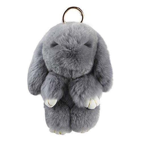 Fluffy Rabbit Key Ring Cute Rabbit Handbag Pendant Key Chain Soft Plush  Charm Bag Keyring Decoration for Girls Women Easter Halloween Gift DIY  Christmas ... ee96c6c0a