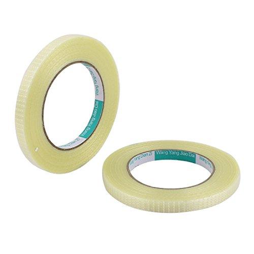 sourcingmapr-2-pc-10mm-altezza-50m-di-lunghezza-adesivo-lungo-griglia-isolante-in-fibra-di-vetro-a-r