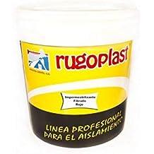 Rugoplast - Pintura antigoteras con fibra de vidrio ideal para eliminar las goteras de tu terraza