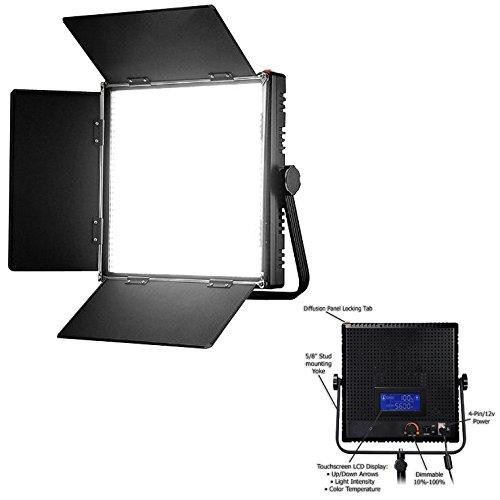 HWAMART ® (1024AL) Schermo dimmerabili tocco del pannello LCD a LED 1024AL LED Video Studio di illuminazione 4 riprese