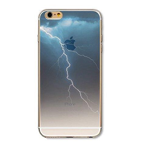 Coque Iphone 5C souple en Gel silicone Souple , Big Ben , Londres, city , Ville Eclair