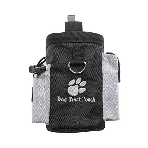 (Gankmachine Haustier Hund Treat Pouch Dog Training Treat Bauchtaschen Abnehmbare Hündchen-Haustier-Feed Tasche Welpen Snack Hüfttasche)