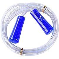 Vimbhzlvigour - Cuerda de Saltar con luz LED, Color Azul
