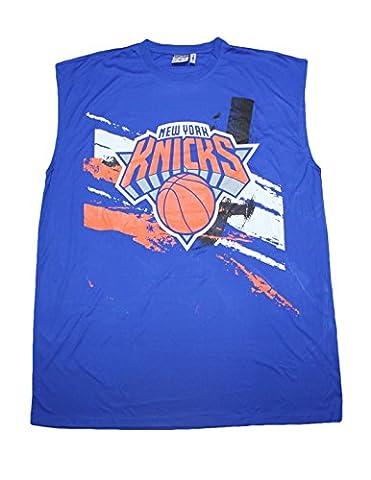 BIG & TALL NBA Mens New York Knicks Athletic Dri-Fit Basketball Tank Top 3X Blue