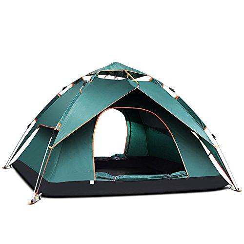 Eshowods 3–4persone campeggio Backpacking tenda automatica Instant pop up tenda 4stagioni per...