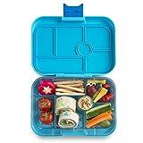 Yumbox Original M Bento Box - mittelgroß, mit 6 Fächern | Lunchbox mit Trennwand Einsatz | Kindergarten Kinder, Schulanfang, Erwachsene (Blue Fish)