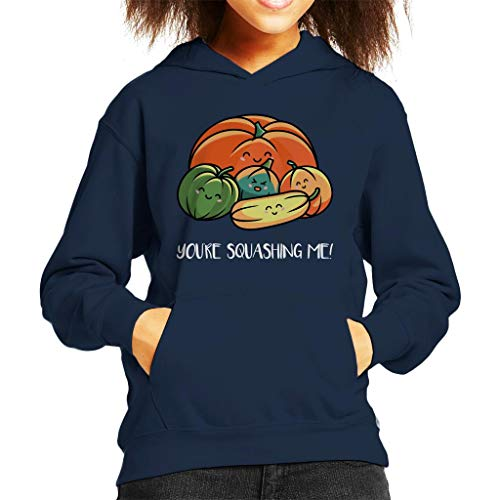 Cloud City 7 Autumn Squash Kid's Hooded Sweatshirt