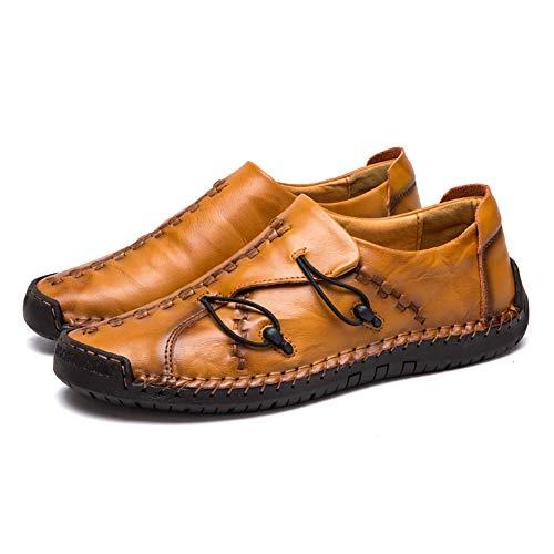 Asifn Uomo Casual Scarpe Mocassini Slip-on Penny Loafer pelle Flats scarpe da guida barca abito formale affari