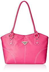 Fostelo Women's Handbag (Pink) (FSB-287)
