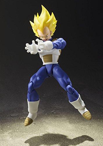 S.H. Figuarts Dragon Ball Z Super Saiyan Super Vegeta 13.5 cm aprox. PVC & ABS Painted Action Figure [Japan] , color… 6