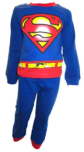 Superman Jungen Schlafanzug 3-4 (Superman Kind Gürtel)