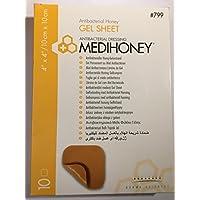 Medihoney Manuka Honey Gel Sheet 10cm x 10cm pk10 Antibacterial Dressing preisvergleich bei billige-tabletten.eu