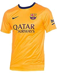 Nike - Camiseta de niños 2ª equipación FC Barcelona 2015-2016 Supporters 645f0684b1d