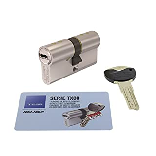 Tesa Assa Abloy, Cylinder High Security Patented TX80, TX853535N