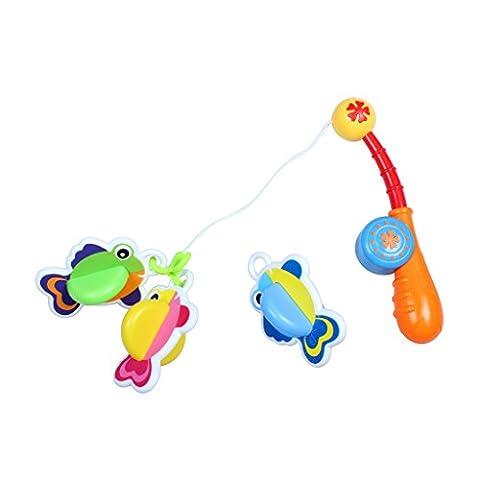 2 Satz Schwimmende Bad Spielzeug Angeln Spiele Für Kinder Baby