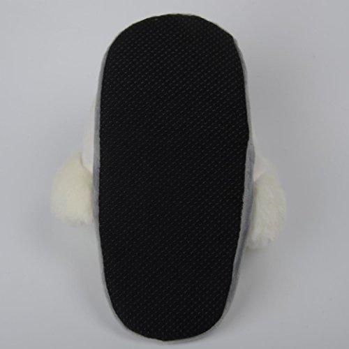 Inverno Pelúcia Criativo Borracha Artificiais Casual De Chinelos Quente Senhora Branco Cartoon Sapato Pu Sandálias Chinelo De Primavera Outono Transer® xtqpzg4wq