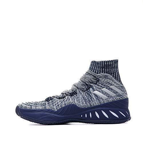 adidas Herren Crazy Explosive 2017 Primeknit Basketballschuhe, Grau Gridos Vealre Azuosc 000, 50 EU